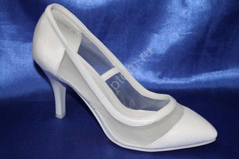 Туфли К-161 Цвет: Белый р.35-40 ВСЕ РАЗМЕРЫ