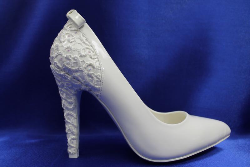 Туфли С-307 Цвет: Белый р. 35-40