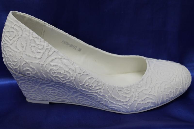 Туфли С-31/1 Цвет: Белый р.36-41 ВСЕ РАЗМЕРЫ