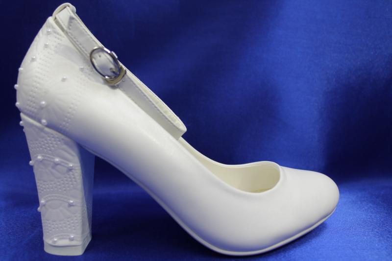 Туфли С-310 Цвет: Белые р.36-41