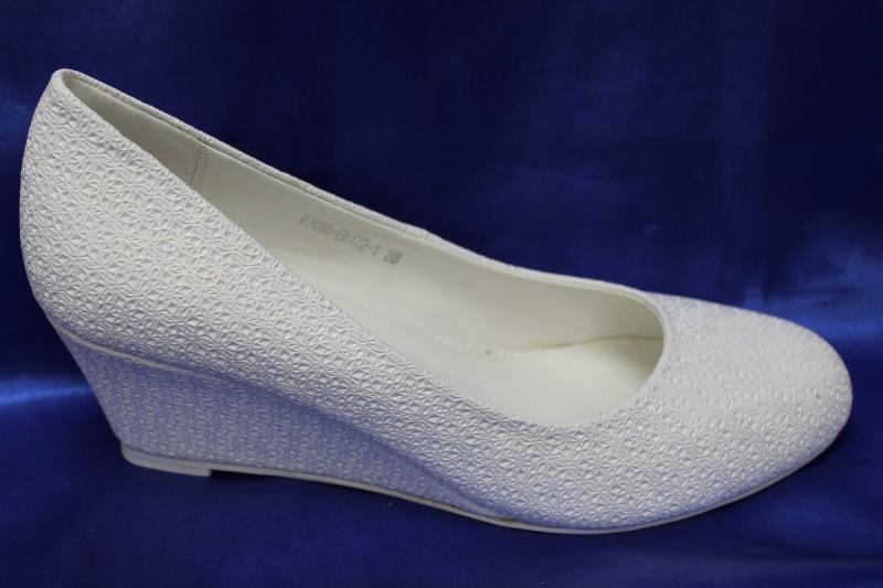 Туфли С-33/1 Цвет: Белый р.36-41 ВСЕ РАЗМЕРЫ