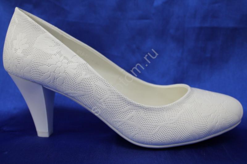Туфли С-43 Цвет: Белый р.36-41 ВСЕ РАЗМЕРЫ