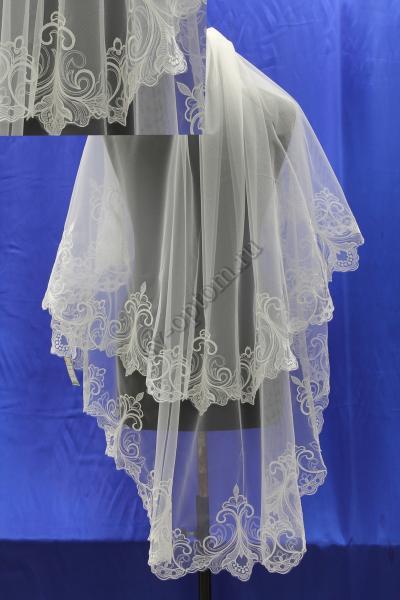 Фата . Цвет : белый арт. 027-066