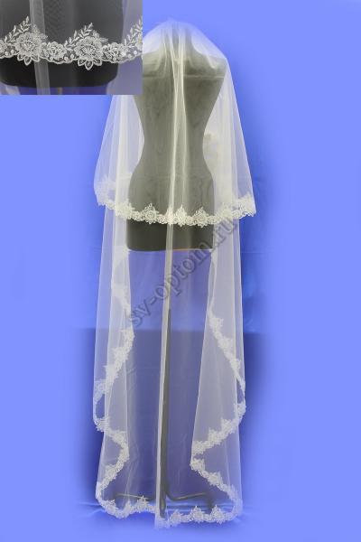 Фата . Цвет : белый арт.027-078