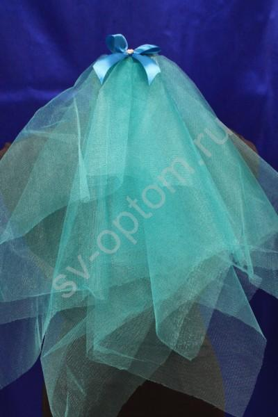 Фата для девичника Цвет: Бирюзовый арт. 027-767