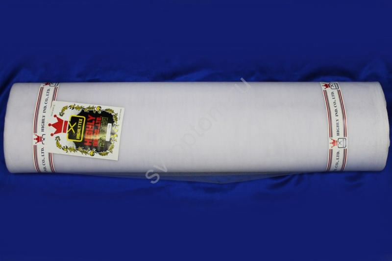 Фатин в рулоне жесткий. Цвет БЕЛЫЙ шир.1,8метра, длина 21м  арт001