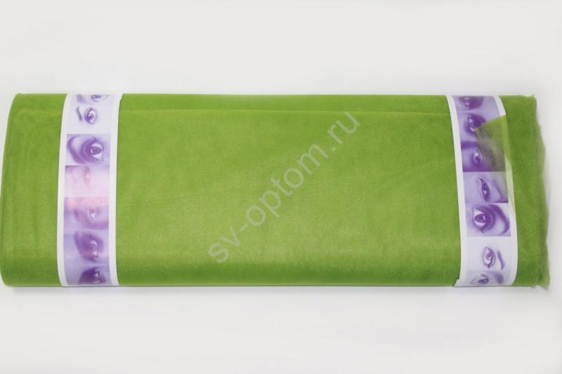 Фатин зеленое яблоко. Ширина 3м. Цена за 1м погонный арт. 132-028