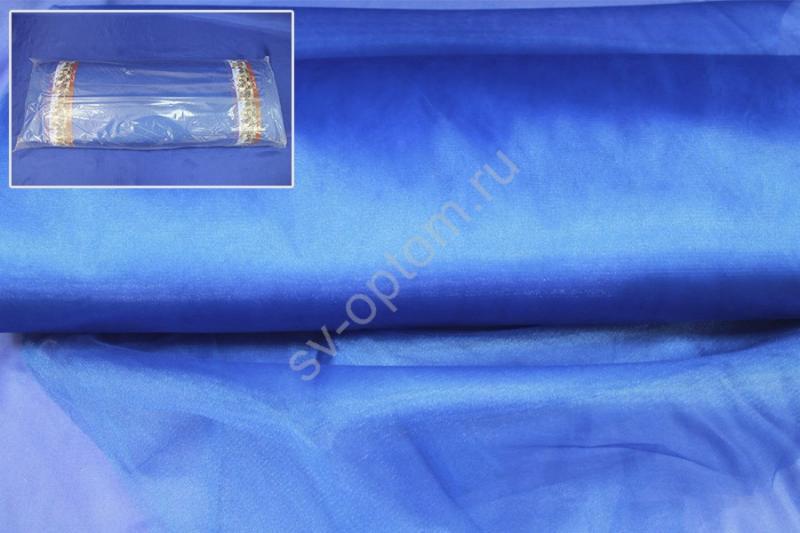 Фатин синий. Ширина 3м. Цена за 1м погонный арт. 132-006