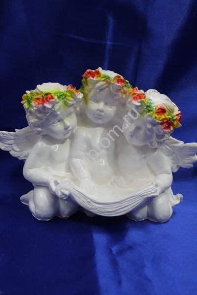"""Фигурка """"Три ангела"""" 31х23см. арт.041-007"""