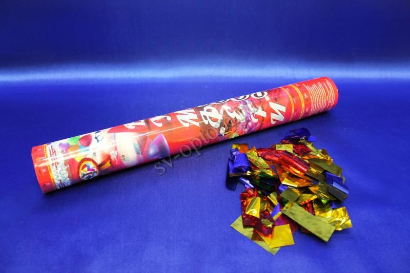 Хлопушка (наполнитель конфети) 40см СД арт. 077-001