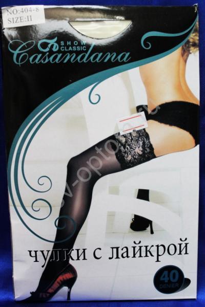 "Чулки ""Casandana""  40den. Айвори. р.S/M арт. 030-013"