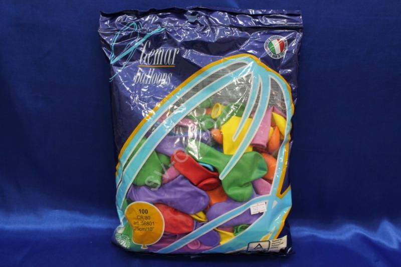 Шары в форме сердца разноцветные (в уп.50шт) арт. 101-002