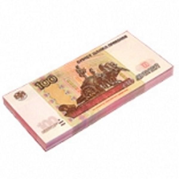 Шуточные деньги, 100 рублей (1 уп.)
