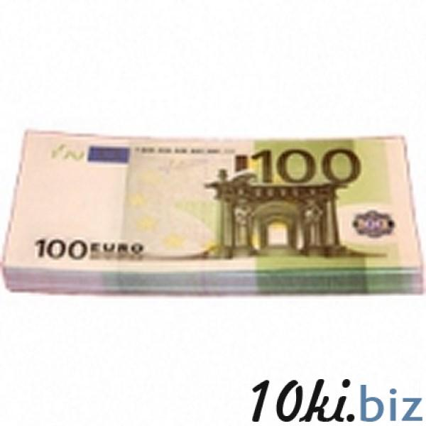 Шуточные деньги, 100 евро (1 уп.) Сувенирные деньги в России