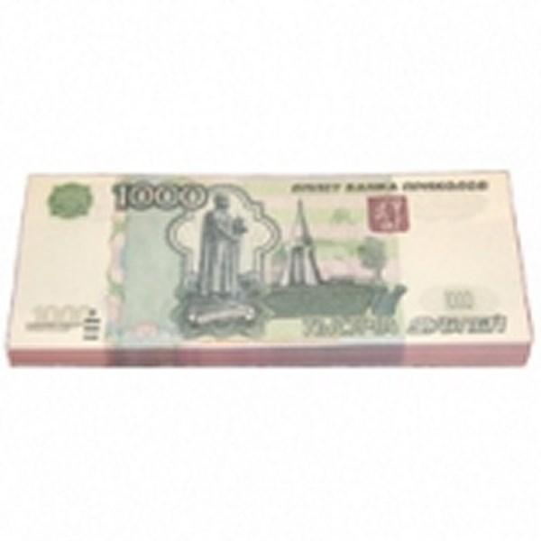 Шуточные деньги, 1000 рублей (1 уп.)