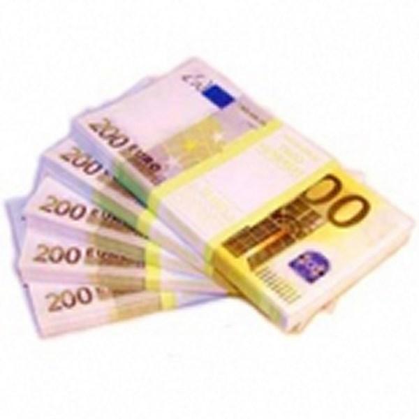 Шуточные деньги, 200 евро (1 уп.)