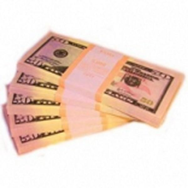 Шуточные деньги, 50 долларов (1 уп.)