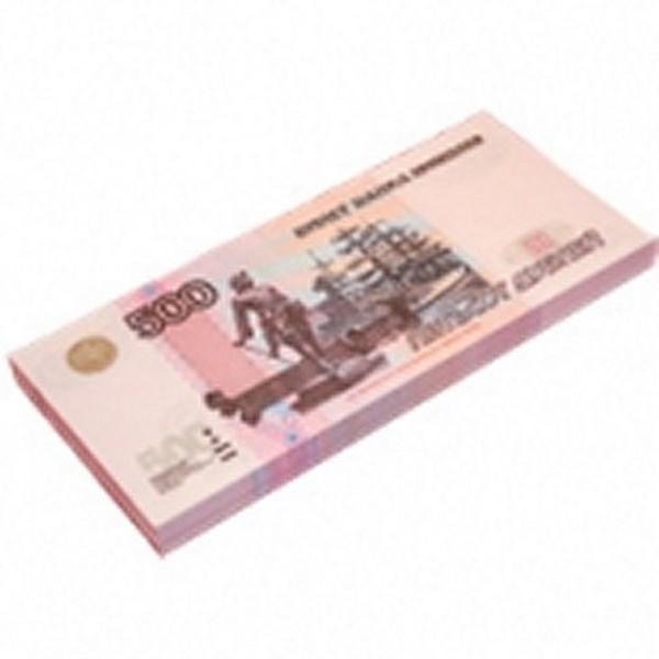 Шуточные деньги, 500 рублей (1 уп.)