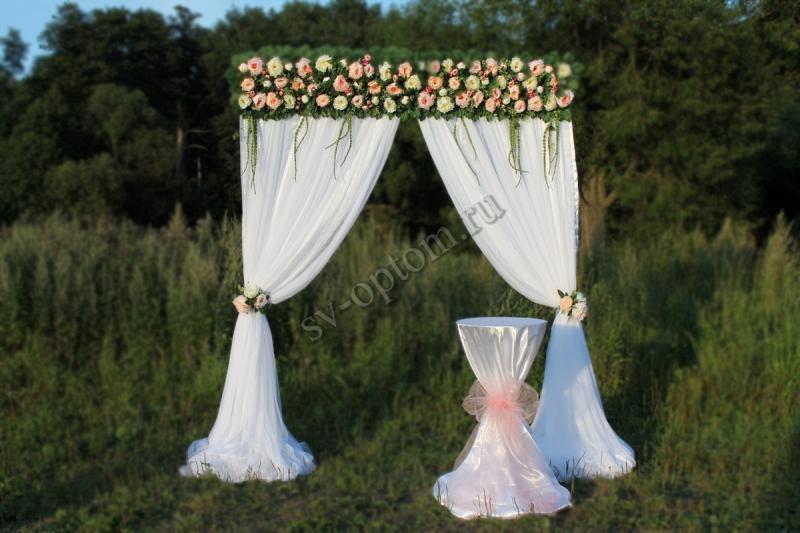Арка свадебная, со столиком аренда 9000 руб. арт. 001-001