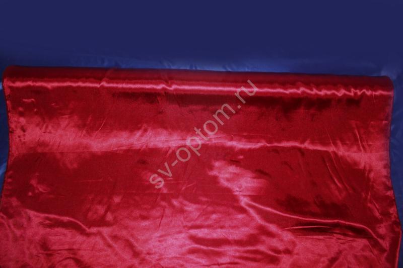 Атлас бордовый длина 100м ширина 150см (хорошее качество!) арт. 143-010