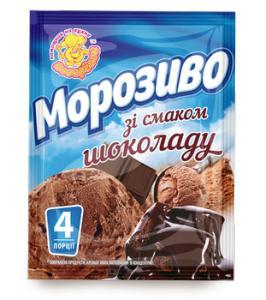 Фото Мороженое Сухая смесь для приготовления шоколадного мороженого ,60 г