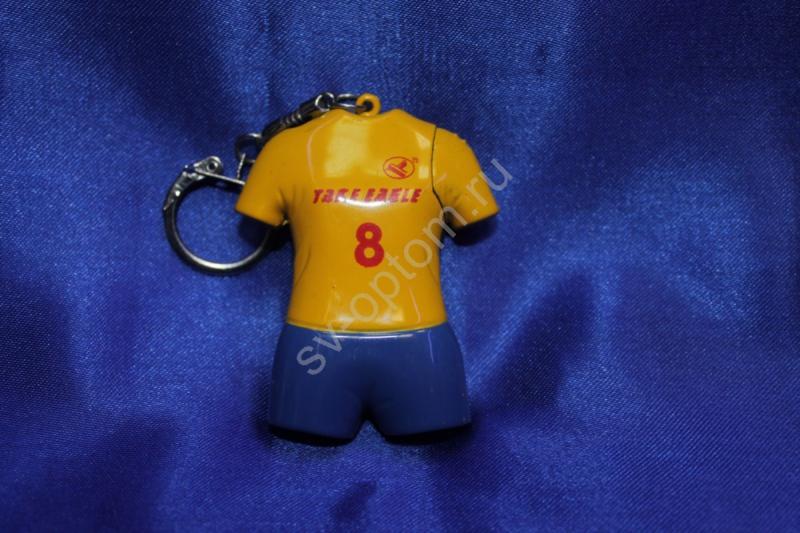 """Брелок """"спортсмен"""" (сине-желтый),арт.073-017"""
