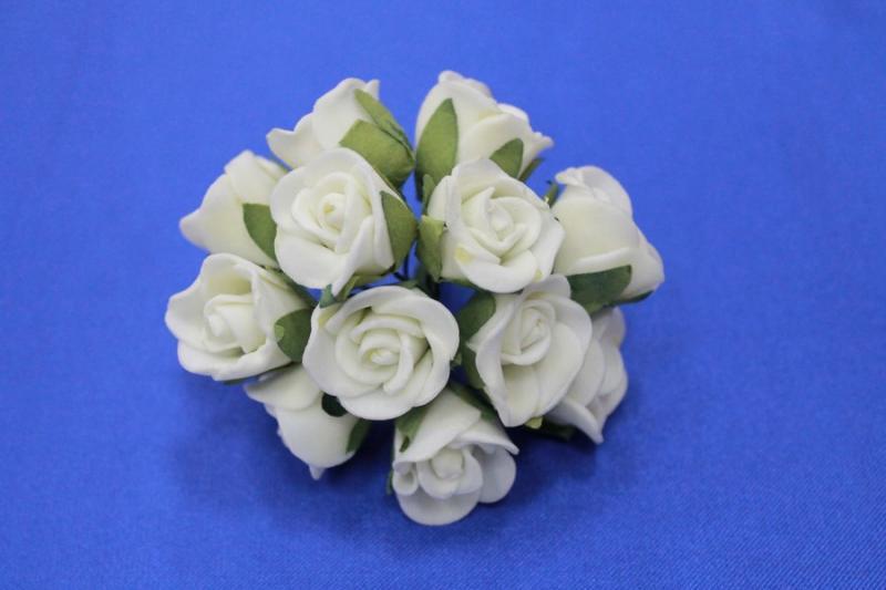 Букет из латексных цветов Айвори (1 цветок 10-15 мм) стоимость букета арт. 139-006