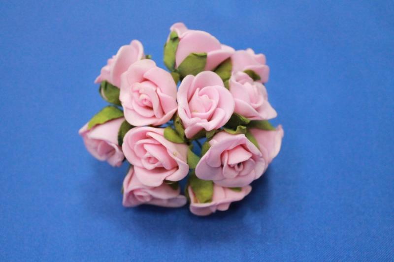 Букет из латексных цветов Розовый (1 цветок 10-15 мм) стоимость букета арт. 139-007