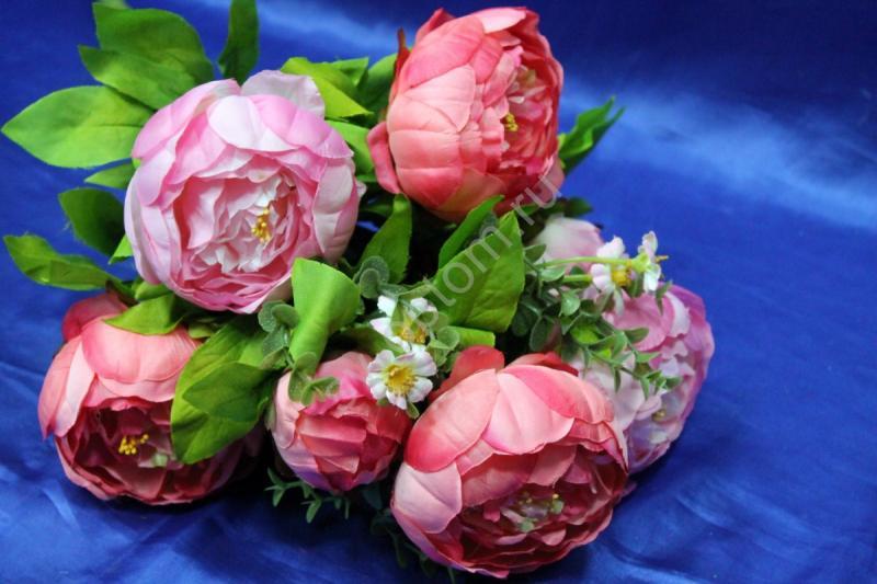 Букет пионы розовые арт. 138-145