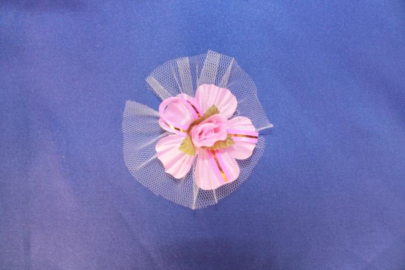 Бутоньерка гостевая розовая арт. 021-188
