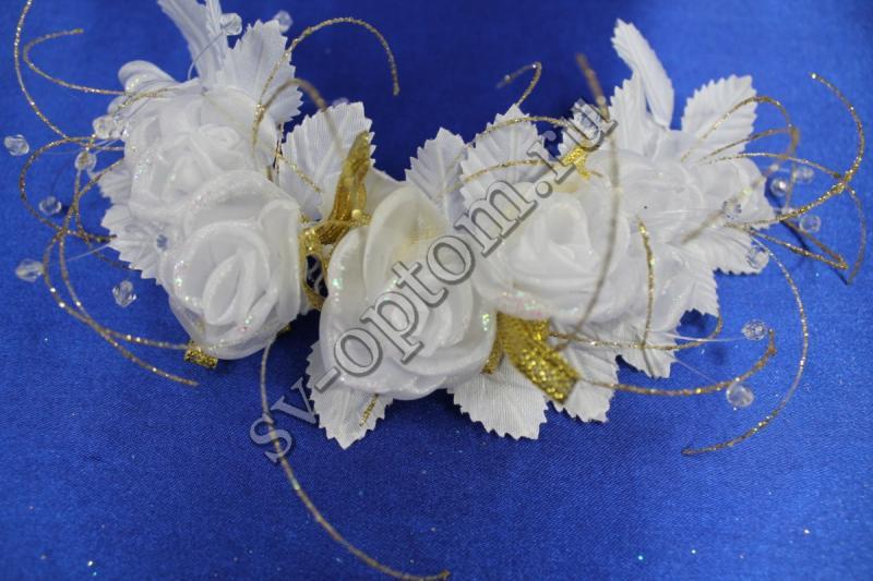 Веночек (цвет белый) арт. 032-027