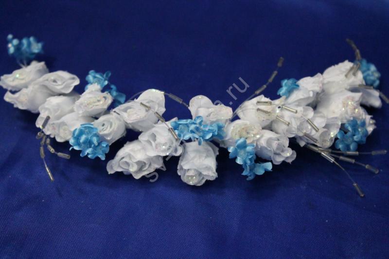 Веночек бело-голубой арт. 032-034