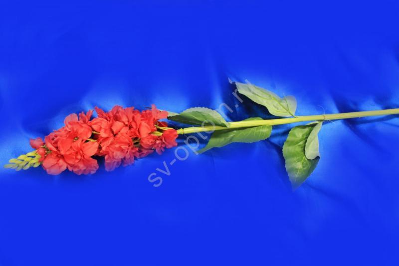 Ветка цветы красные арт. 138-127