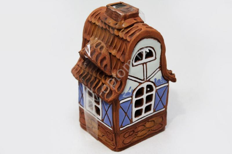 Домик керамический (ручная работа) арт. 064-005