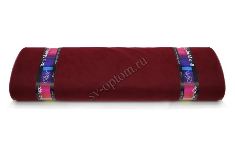 """Еврофатин в рулоне """"Bon Mariage"""" Бардо Цвет:№038. Ширина 3м. Длина 50 м."""