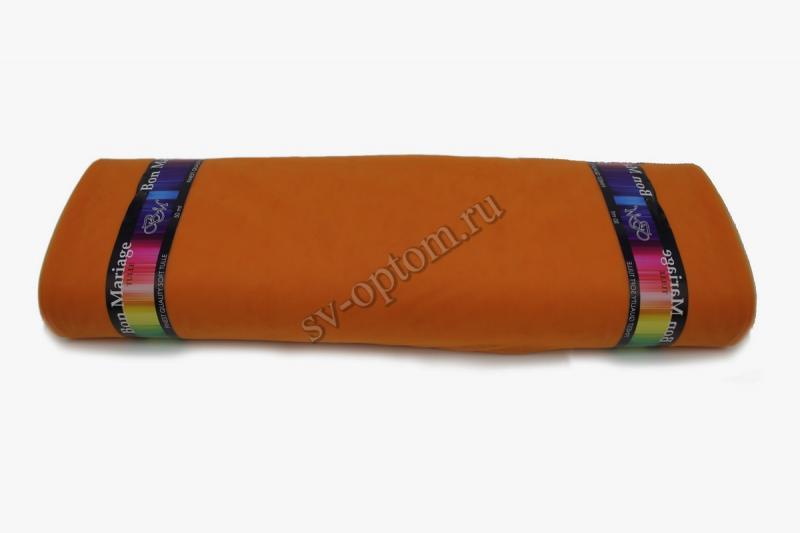 """Еврофатин в рулоне """"Bon Mariage"""" Оранжевый. Цвет:№087. Ширина 3м. Длина 50 м."""