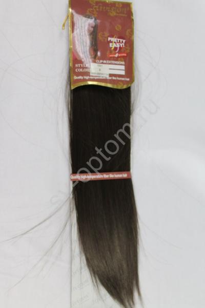 Искуственные волосы 50см 5прядей (color:8) арт. 040-022