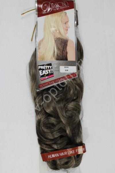 Искуственные волосы 50см 8прядей (color:G38) арт. 040-054