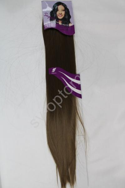 Искуственные волосы 60см 8прядей (color:12) арт. 040-013