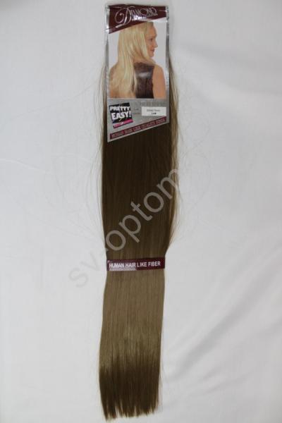 Искуственные волосы 60см 8прядей (color:14) арт. 040-008