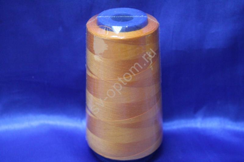 Катушка с нитками (персик) 3500м арт. 140-001