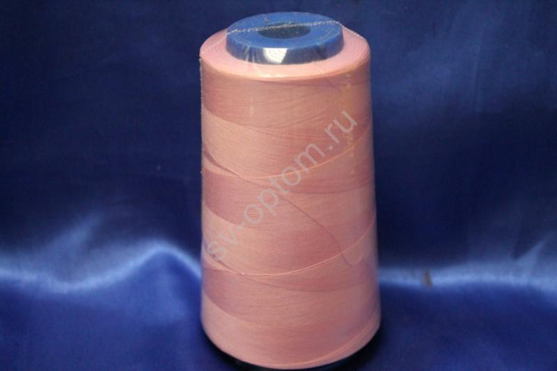 Катушка с нитками (розовый) 3500м арт. 140-006
