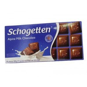 Шоколад Schogеtten Alpine Milk Chocolate 100 гр