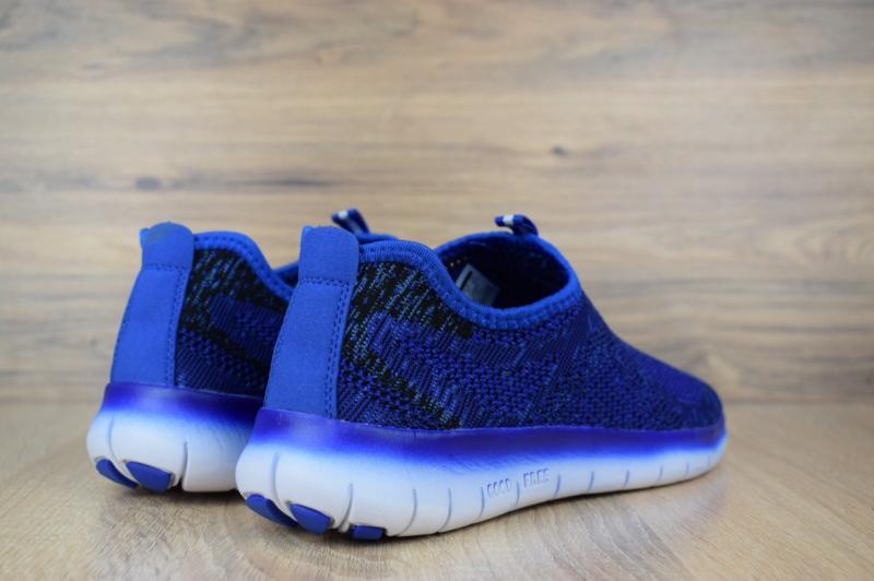 Фото  Nike Good Free Flyknit Blue (41-45)