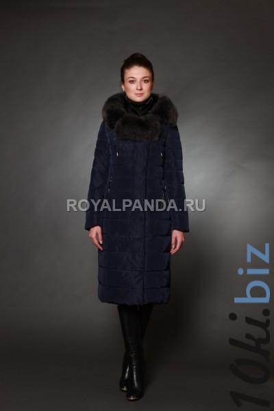 Куртка женская зимняя 1719 натуральный мех Зимние куртки женские в Москве