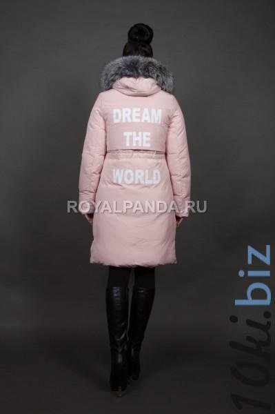 Куртка женская зимняя 16092 натуральный мех Зимние куртки женские в Москве