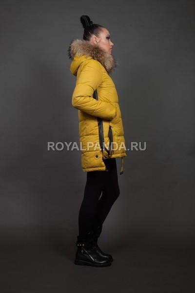 Куртка женская зимняя 1616 натуральный мех