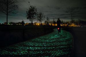 Фото Готовая светящаяся продукция Нокстон Светящаяся мраморная крошка 1 кг
