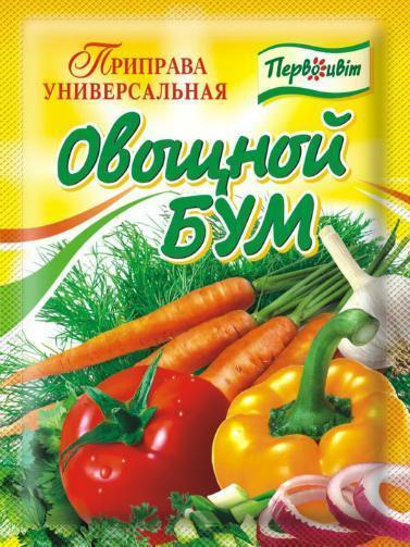 """Приправа универсальная """"Овощной Бум"""" ,90 г"""
