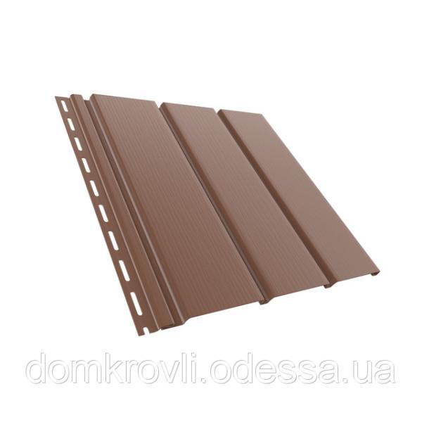 Софіт Budmat панель б/перфорації колір світло коричневий 3 м